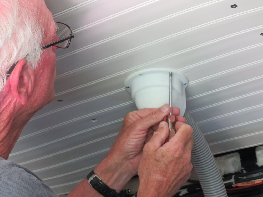 Installing the toilet vent