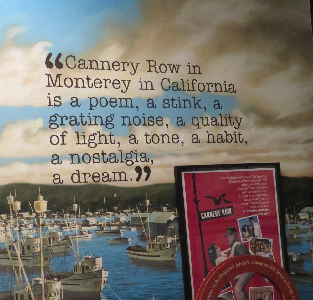 monterey_steinbeck quote cannery row.JPG