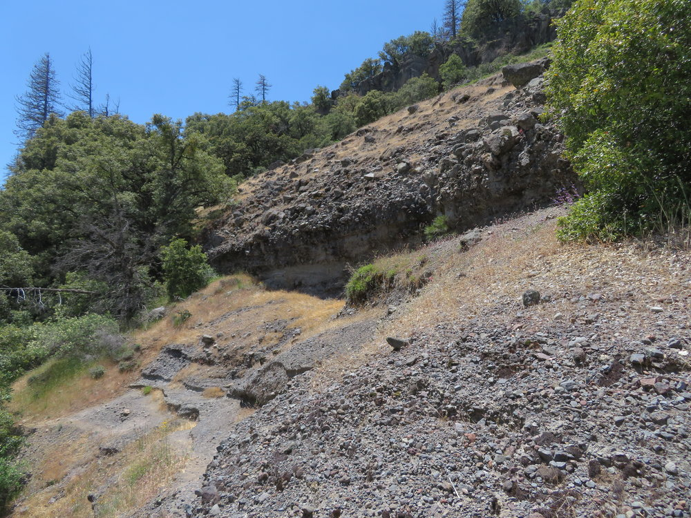 Milennia-old lava beds