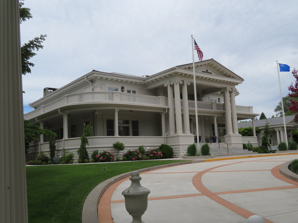 The Governor's Mansion was on our self-guided tour and it looks as if the Governor has pretty nice digs … at least while he's in office.