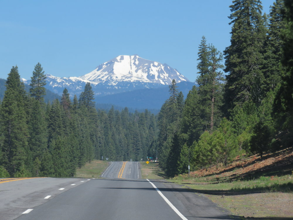 And then Lassen Peak popped into view!