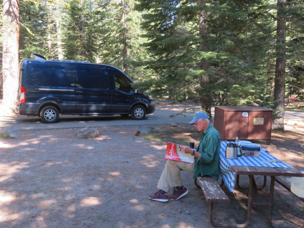 No worries ... there were plenty of open sites available in the Manzanita Campground.