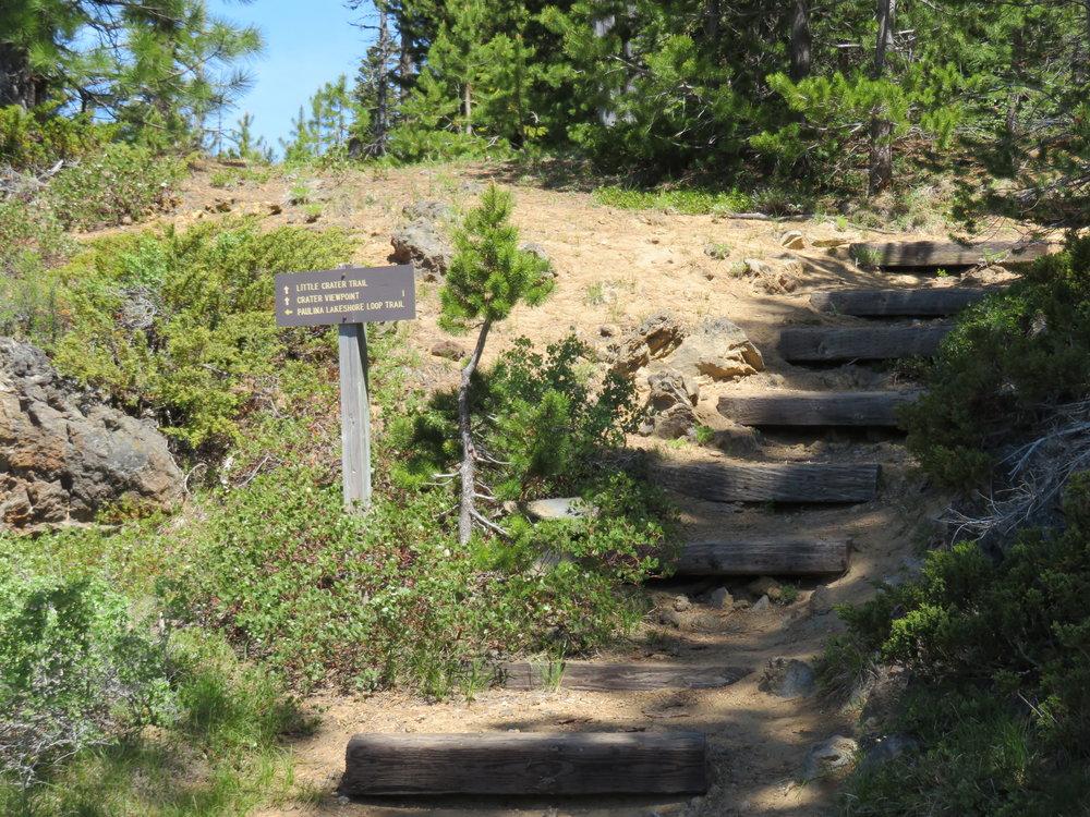 Paulina Lake Loop Trail