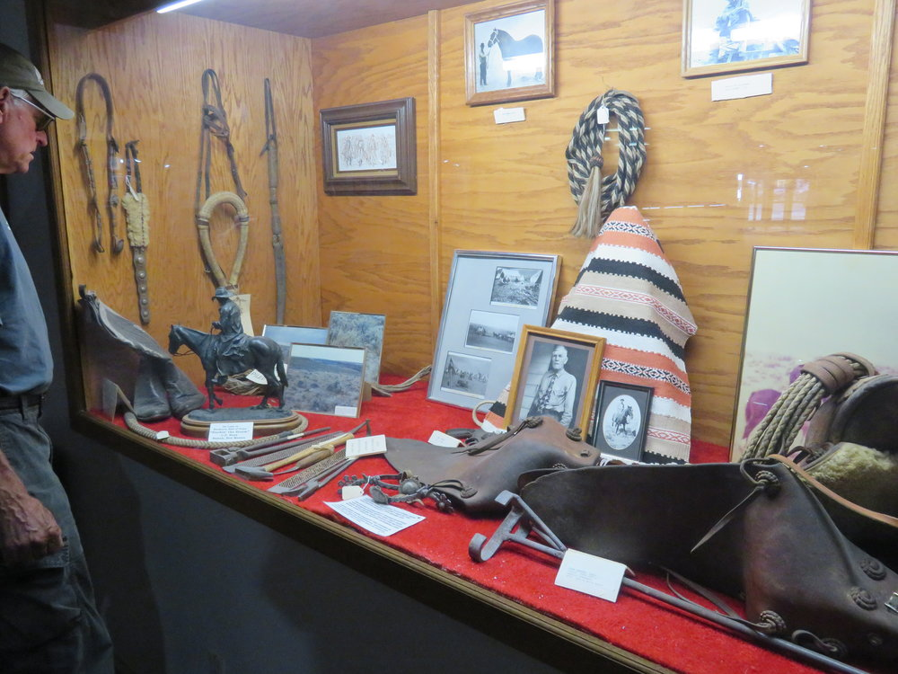 Checking out the Buckaroo Hall of Fame in Winnemucca