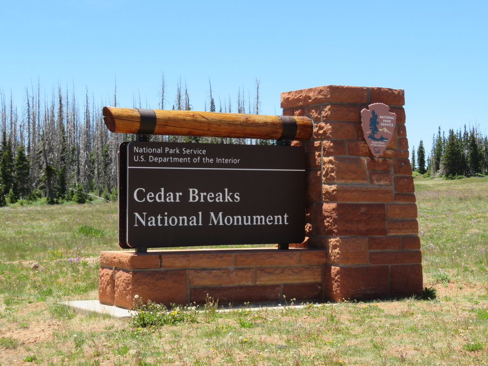 Cedar Breaks National Monument ... nearly two miles high in the sky