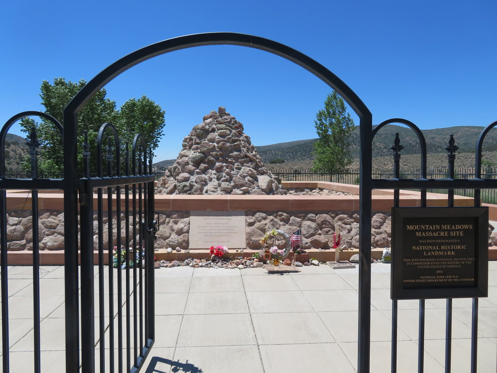 Mountain Meadows massacre site national landmark