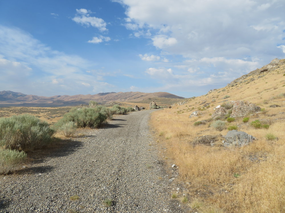 Walking the railbed of the Big Fill Trail