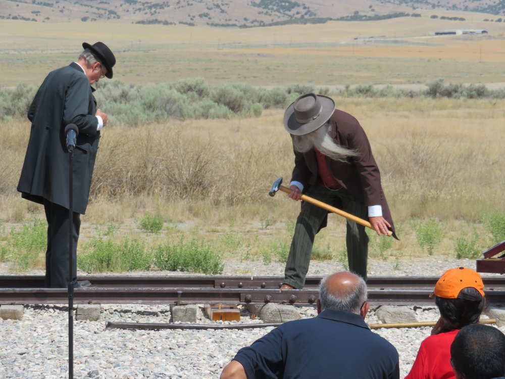 Driving in the golden spike