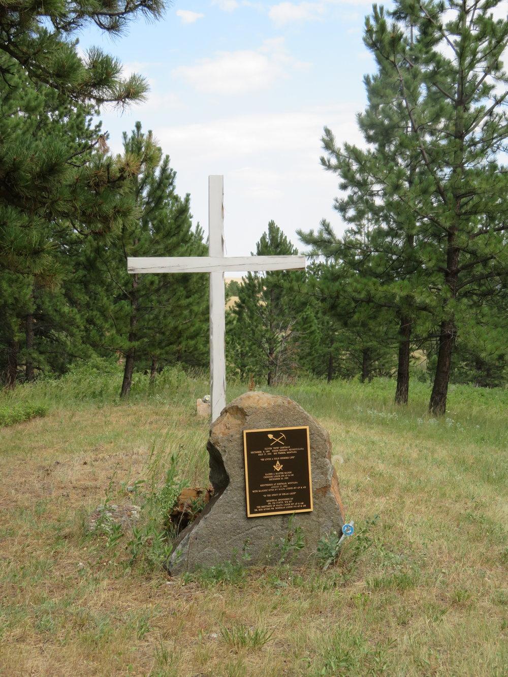 campcreek_pete zortman grave.JPG