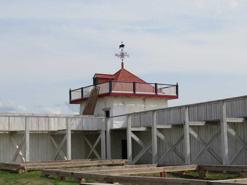 Bastion and 15' tall palisade