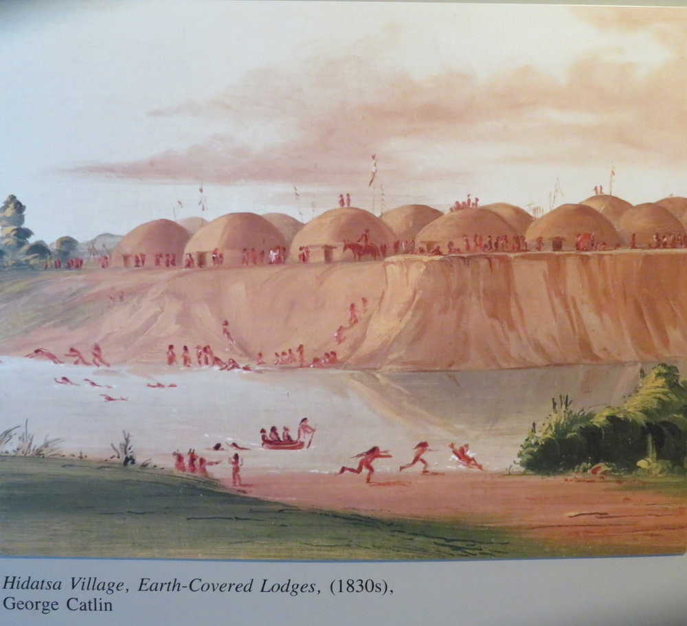 knife-river_hidatsa village-catlin 1830.JPG