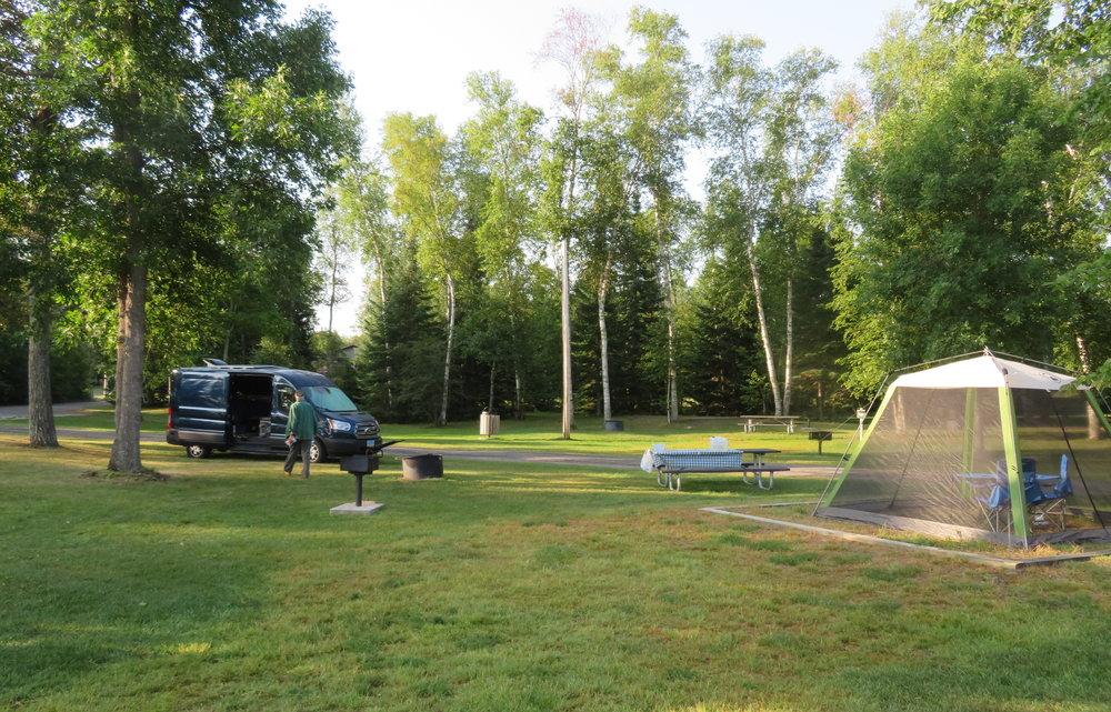 City Beach Campground, International Falls, MN