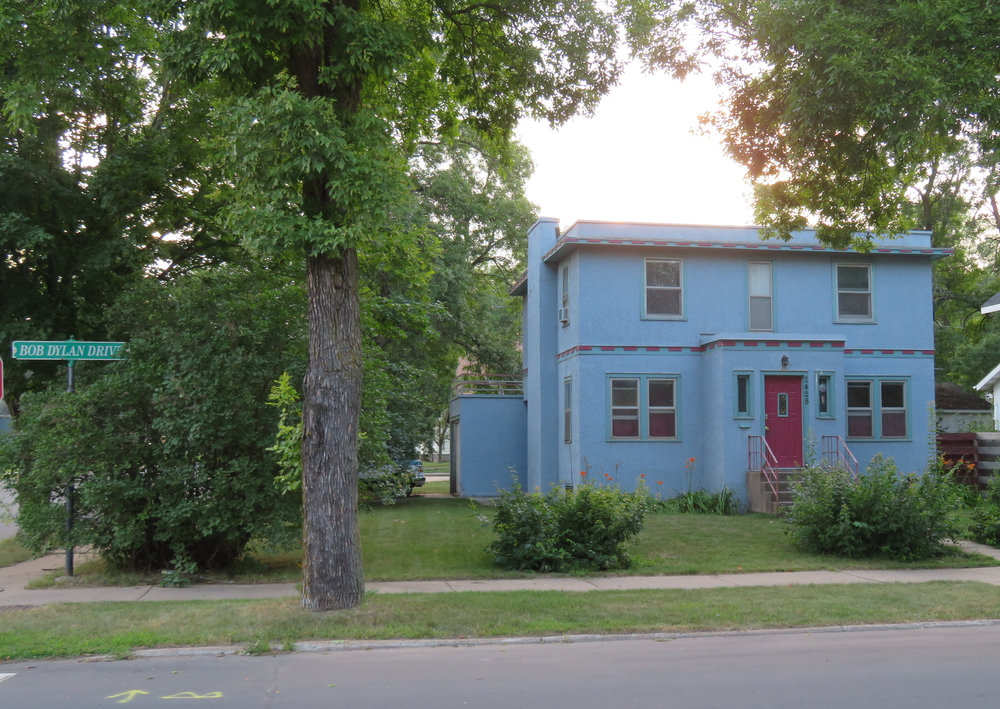 Robert Allen Zimmerman's childhood home ... aka Bob Dylan ... in Hibbing, MN