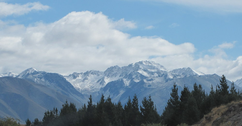 The Southern Alps in New Zealand, part of the Te Araroa Trail