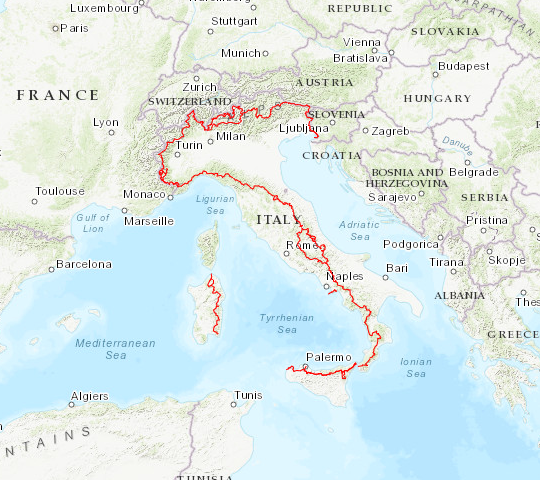 Te Grand Italian Trail