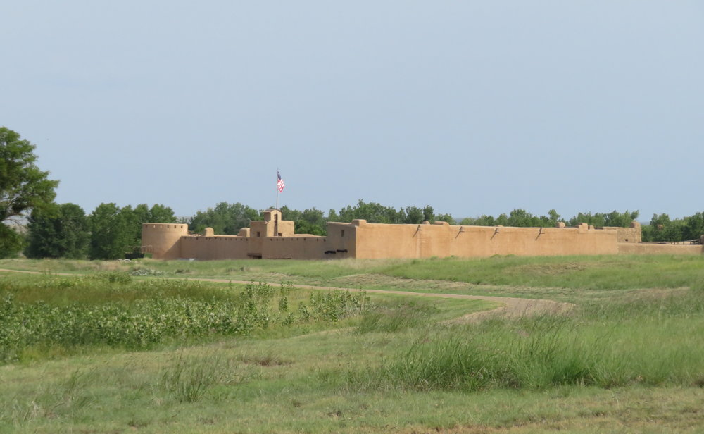 Bent's Old Fort - It's an impressive place.