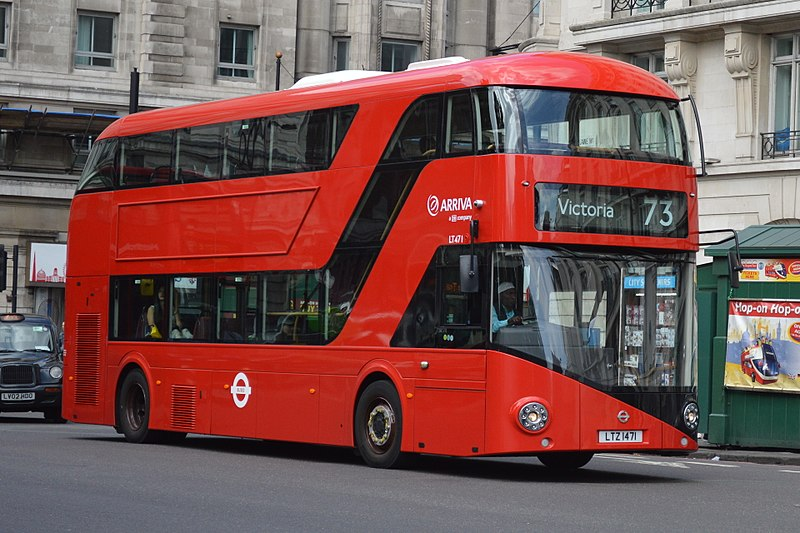 From national trains to double-decker buses, TFL has it all. Photo: Martin49, London,England