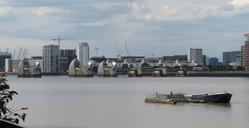 Thames Barrier view