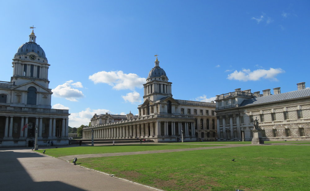 Old Royal Naval College ... a UN World Heritage Site