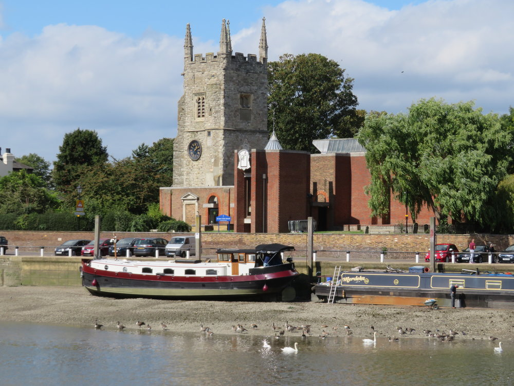 Lots of things catch our eye … not always famous, not only landmarks, sometimes just lovely. like All Saint's Church at Isleworth