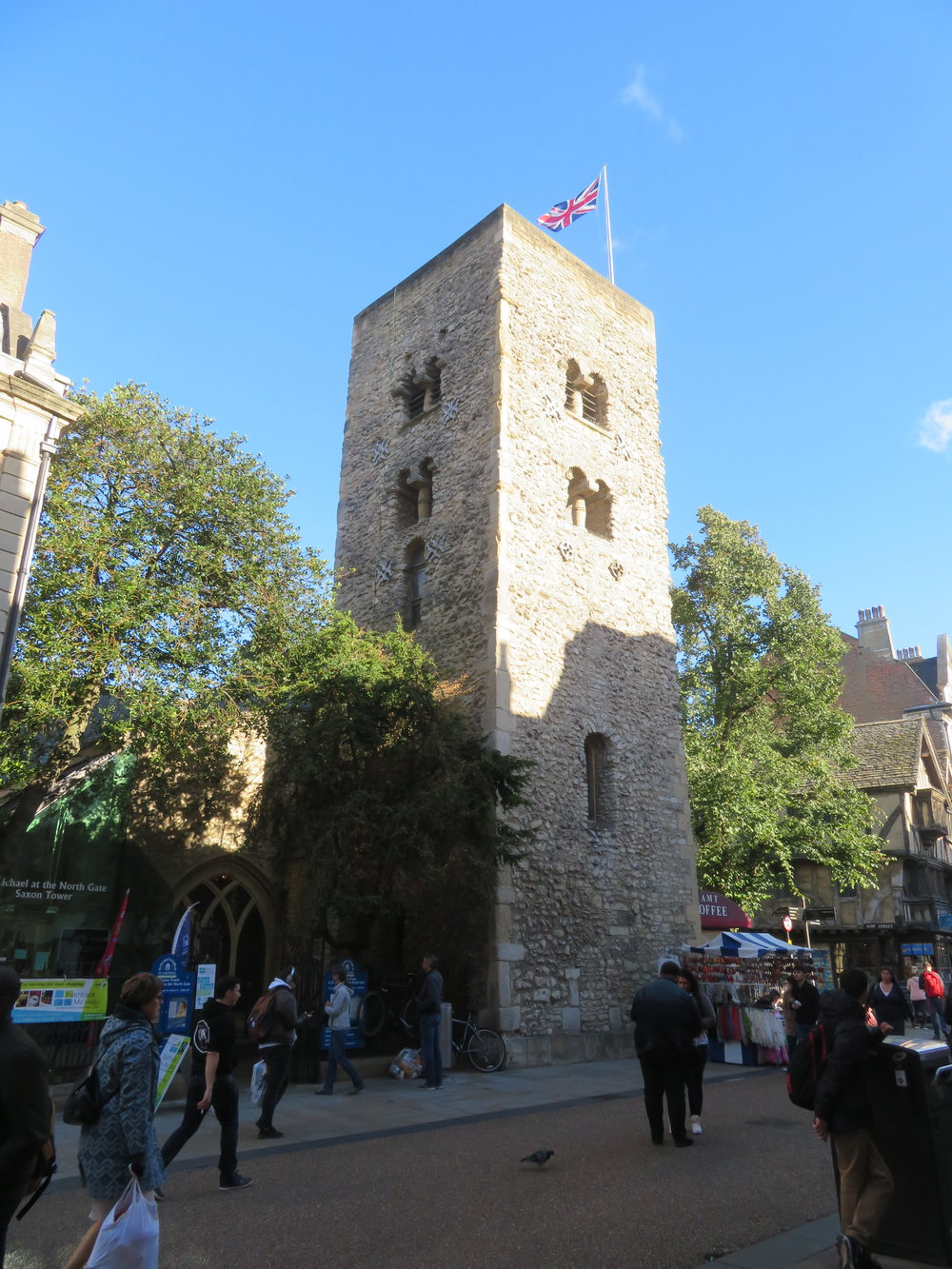The Saxon Tower - St. Michael at the North Gate