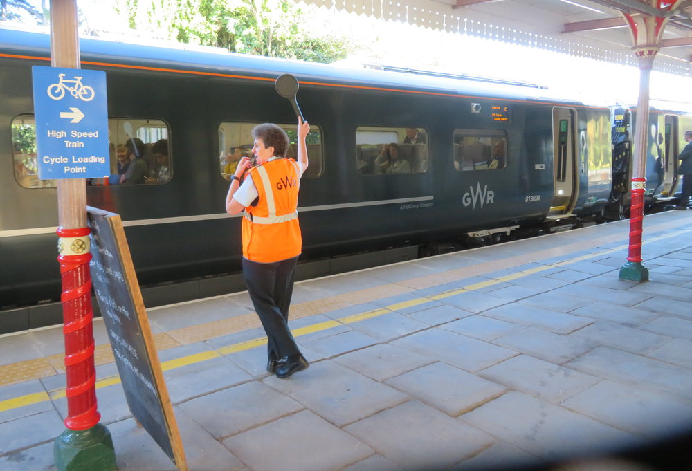 All aboard the Great Western Rail to London