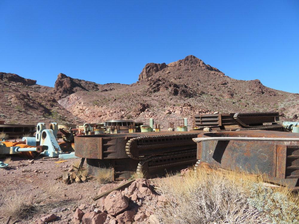 Hoover Dam boneyard