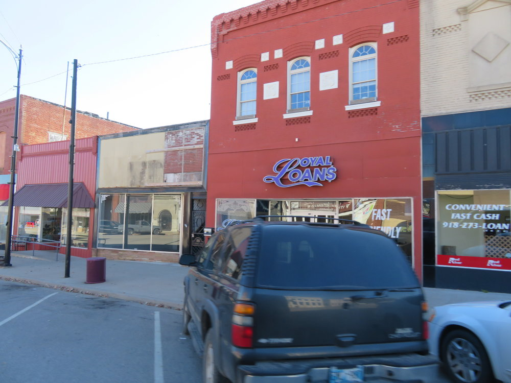 Welcome to downtown Nowata, OK