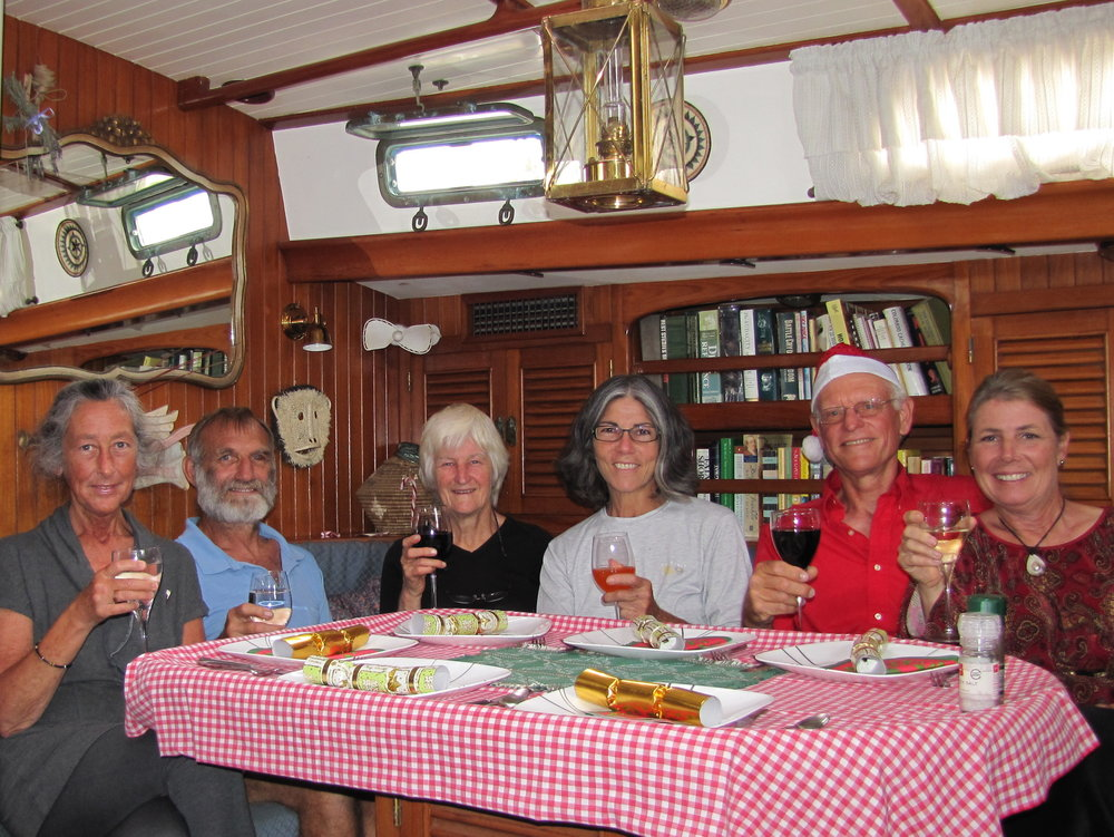 A Kiwi Christmas 2010 - Sadly, we've said goodbye to two good friends… Karen (far left) and Evie (3rd from left). Gone, but not forgotten.