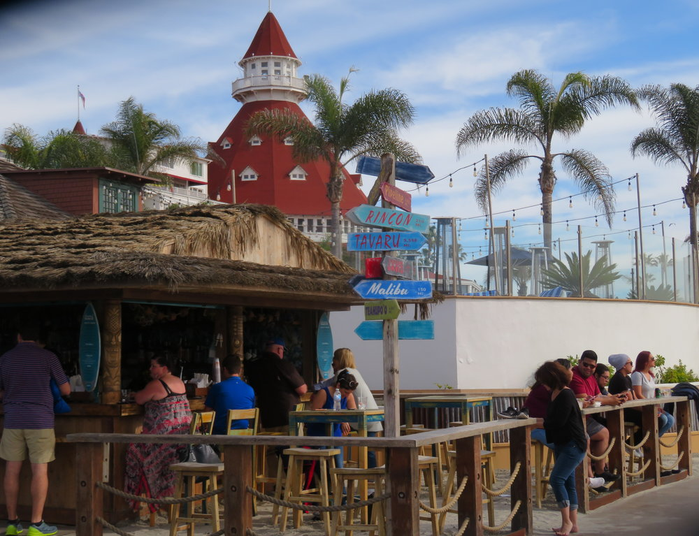 A tiki bar, cold beer, fish tacos and sunshine…just what the doctor ordered.