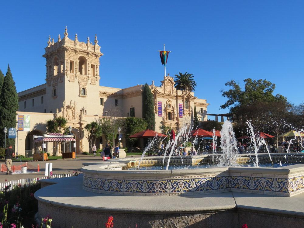 Plaza de Panama at Balboa Park