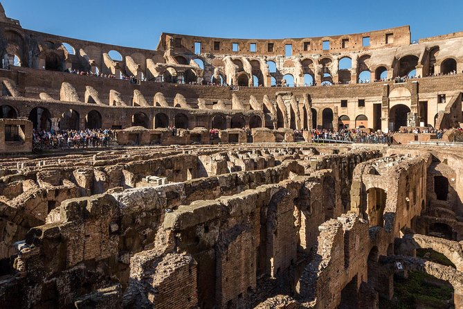 A Colosseum tour was on the top of our list for tours.
