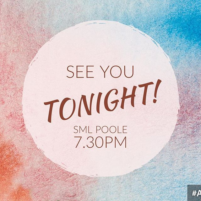 We're so excited for the first Faith, Technology and Tomorrow meeting TONIGHT! Come along at 7.30pm, SML Poole Church Centre, we look forward to seeing you there!