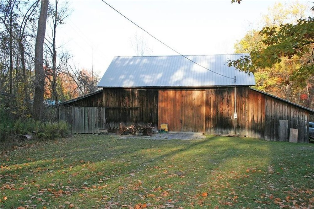 Farm Barn for equipment storage and initial crop harvest processing.