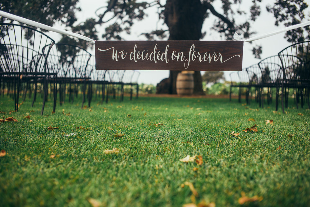 we decided on forever by Sweet Carolina Collective