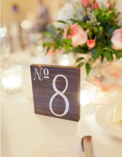 Rustic Wooden Table Number   Wedding Table Decor   SS-23 — Sweet ...