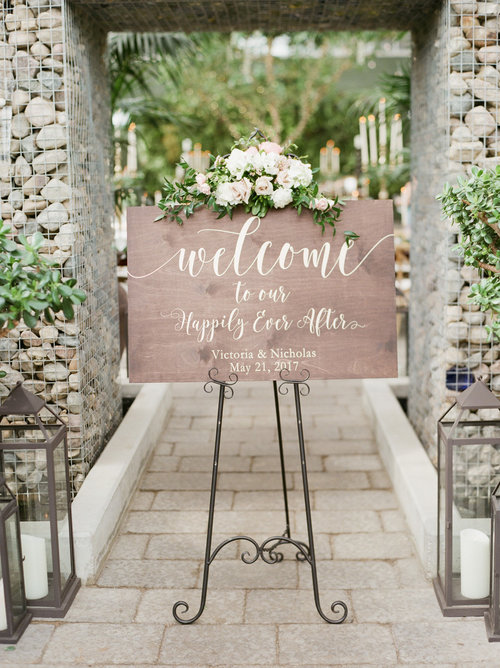 welcome to our happily ever after sign wedding welcome sign ss