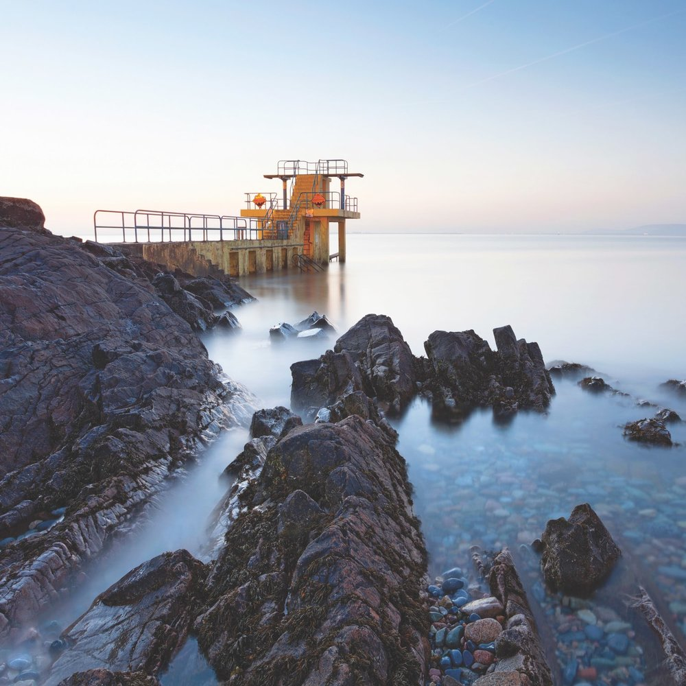 Awaiting the sunrise at Blackrock Diving Board near Salthill, Galway. Photo by Rihardzz / Shutterstock