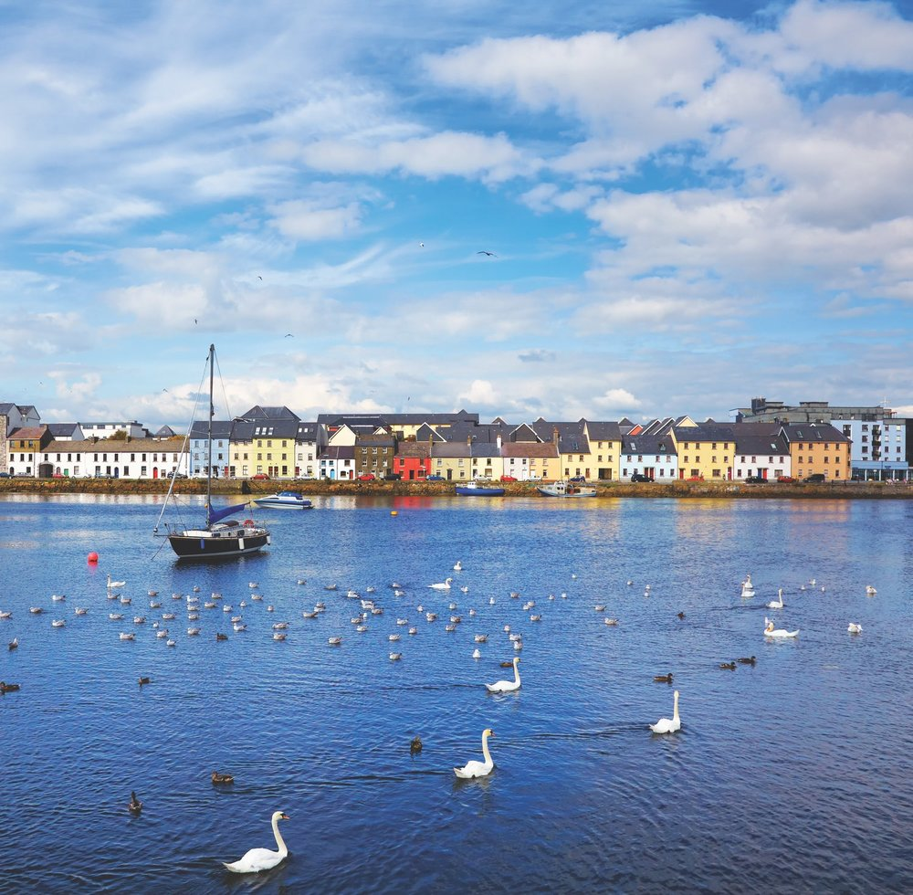 Rarely does a view beat that of the Claddagh in Galway City during summertime. Photo by Gabriela Insuratelu / Shutterstock
