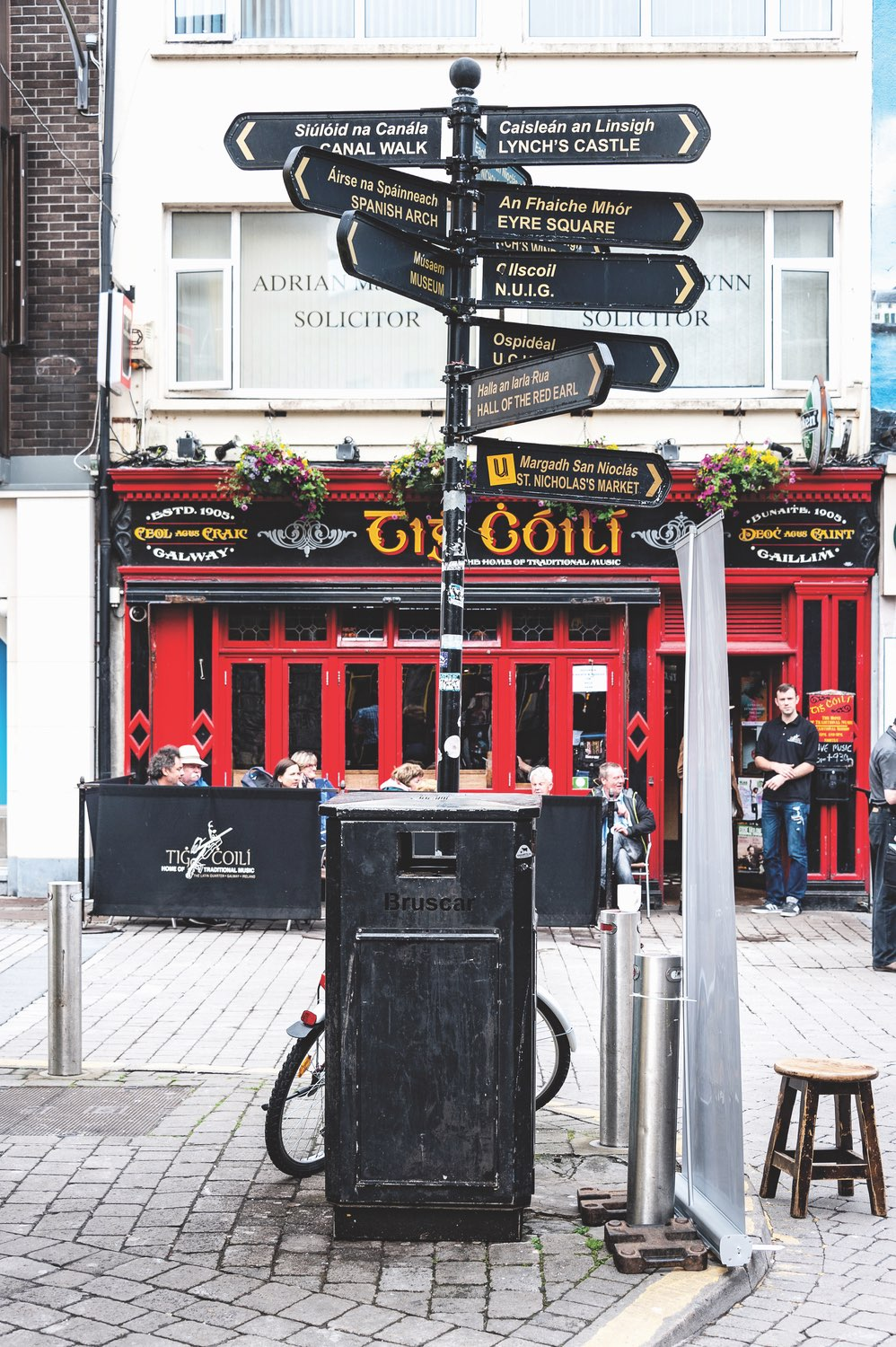 Tig Cóilí on Mainguard Street is one of many laid-back pubs in Galway perfect for enjoying a pint on your way to or from Connemara. Photo by Rolf G Wackenberg / Shutterstock