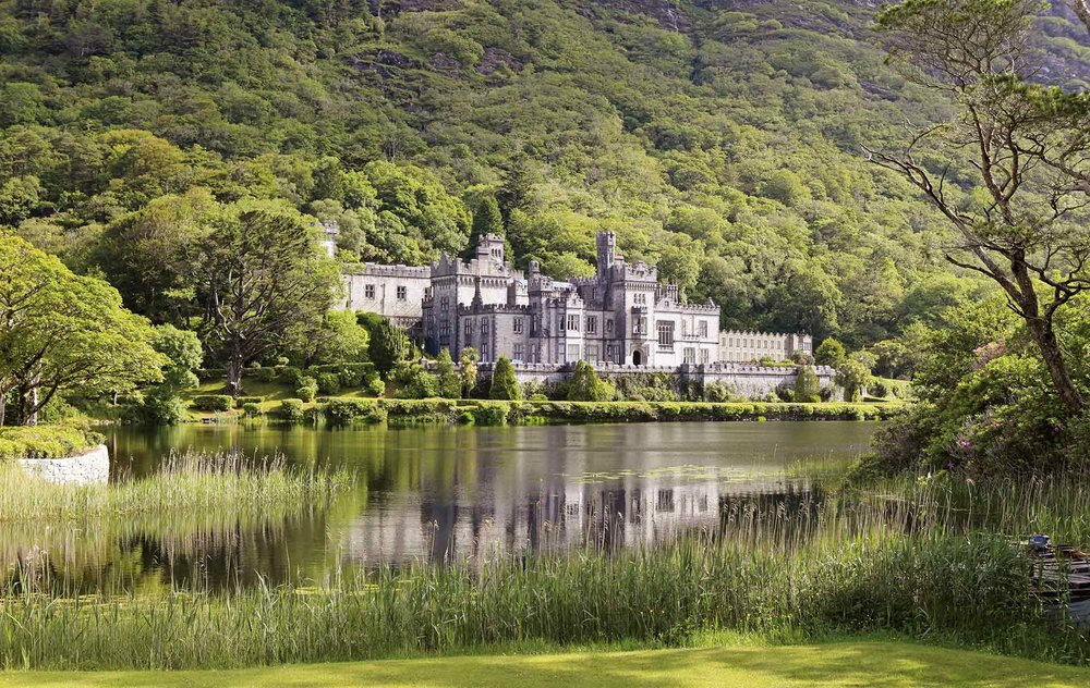 Kylemore Abbey sits in the heart of Connemara, welcoming visitors to the west of Ireland with its rich history and beautiful landscape. Photo courtesy of Kylemore Abbey