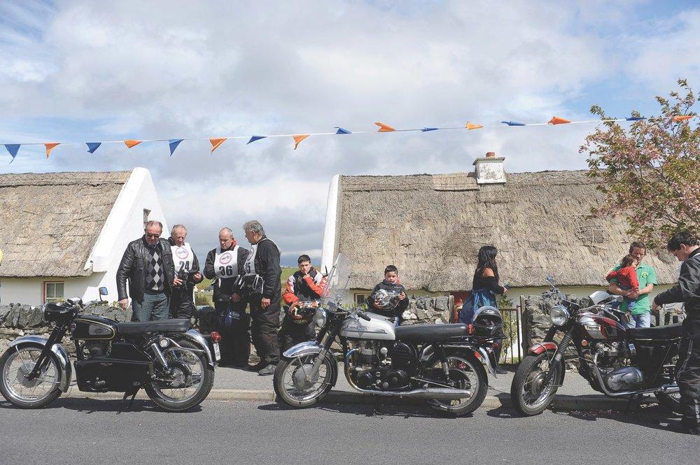 Motorcyclists enjoying the festival