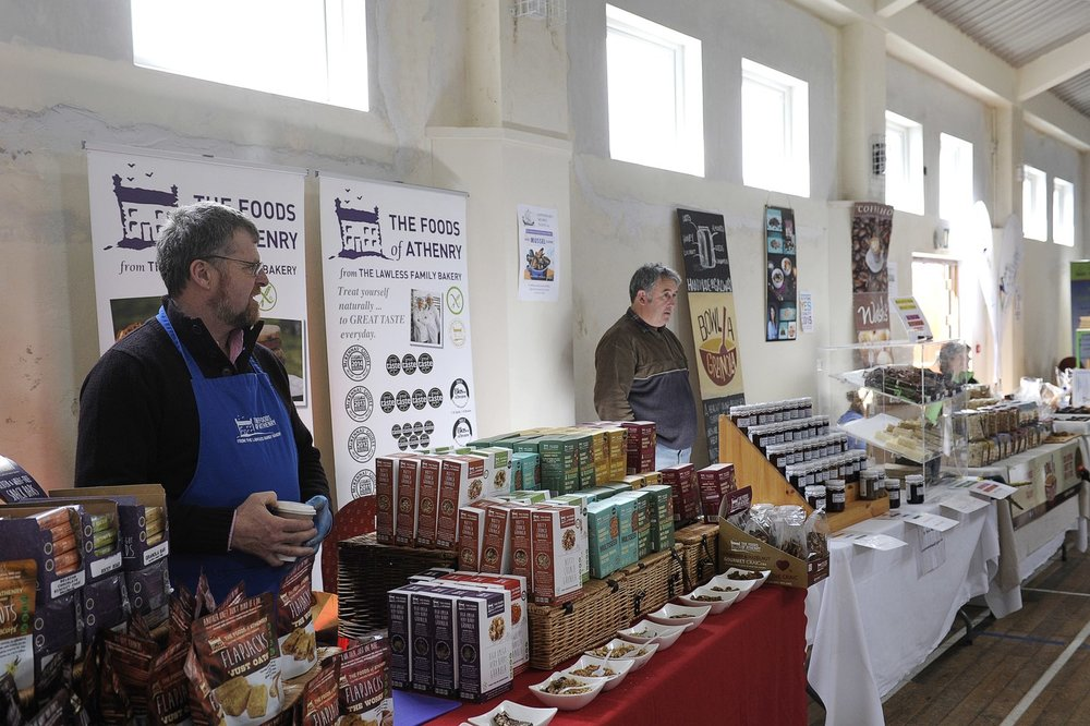 Goods sold at the Mussel Festival