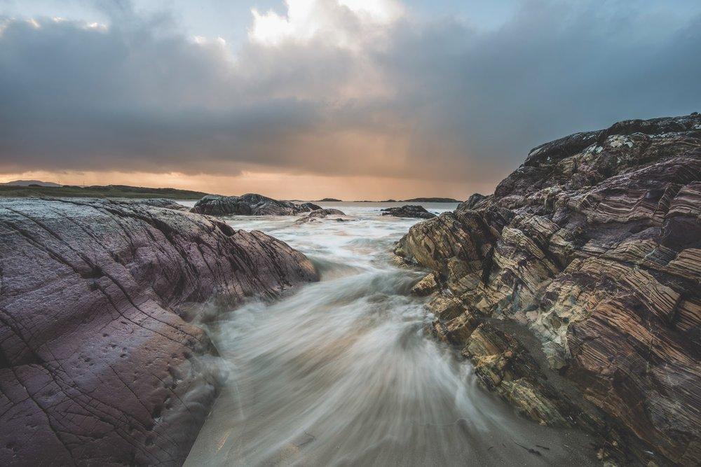 Landscape of Irelands West Coast