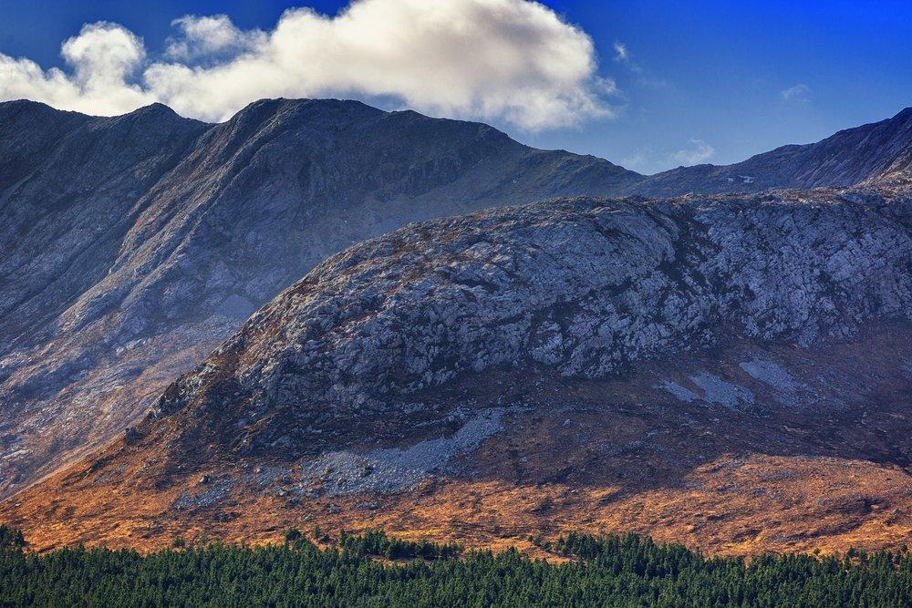 Connemara Ireland Mountain View