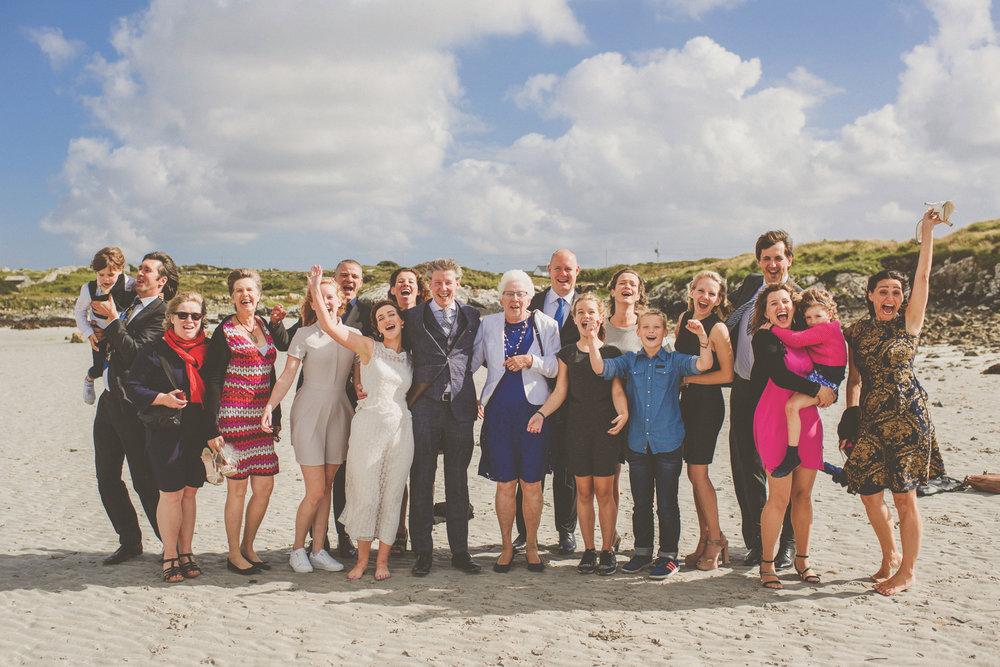Elizabeth Whelan and Jeroen Idema 8 AUGUST 2016 CHRIST CHURCH CLIFDEN RECEPTION AT CONNEMARA SANDS HOTEL, BALLYCONNEELY