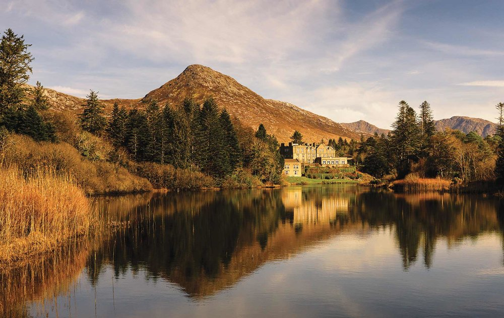 Ballynahinch Castle Hotel and Estate, Connemara, County Galway. (Photo courtesy of Ballynahinch Castle Hotel & Estate)