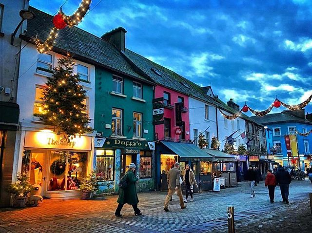 #Repost @thisisgalway ・・・ The only problem with Christmas shopping in Galway, is how easy it is to get distracted by all the twinkly stuff🎄✨📸 - Thanks to @bellat99 for this beautiful shot of Mainguard Street looking properly Christmassy! - Use our hashtag #thisisgalway To get your photos featured! - #wearegalway #christmastime #lovegalway #wildatlanticway #intothewest #exploregalway #galway2020 #failteireland #picoftheday #thesheep #connemaralife #gatewaytoconnemara