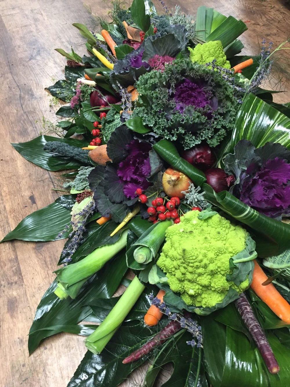 Luxury Vegetable coffin spray.jpg