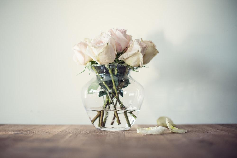 Vase of OHara Roses.JPG